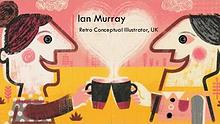 Ian Murray - Retro Conceptual Illustrator, UK
