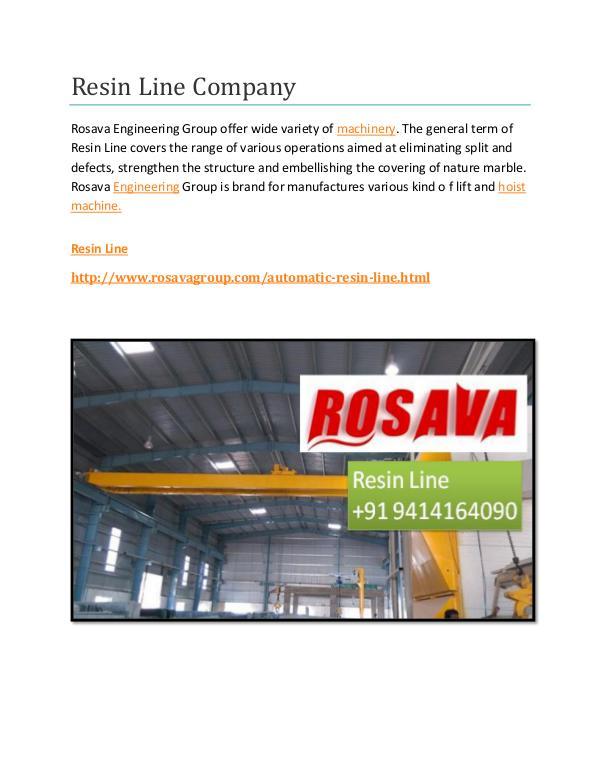 Resin Line Company