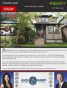 Sold Listings - Maple Ridge
