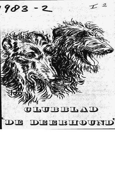 De Deerhound 1983 editie 1 1983 #1