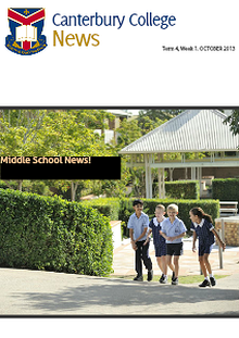 Canterbury College Newsletters
