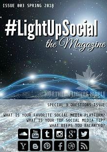 #LightUpSocial the Magazine