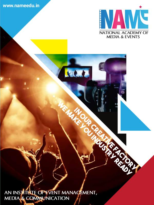 An Institute Of Event Management, Media & Communication An Institute Of Event Management, Media & Communic