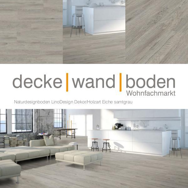 Corpet LinoDesign Linoleum Holz und Stein Designboden dwb Produktinformation LinoDesignWood Eiche Samtgr