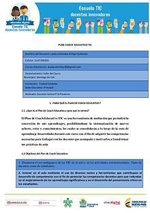 PLAN COACH EDUCATIVO 2017