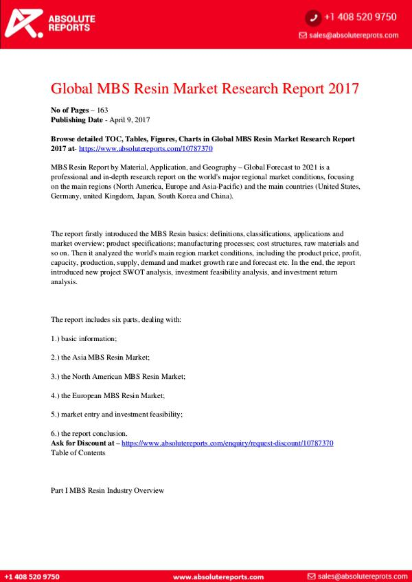 28-07-2017 MBS-Resin-Market-Research-Report-2017