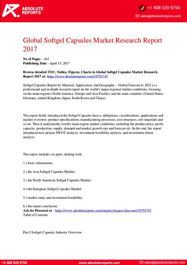 Softgel-Capsules-Market-Research-Report-2017