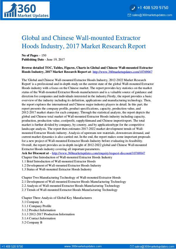 Wall-mounted-Extractor-Hoods-Industry-2017-Market-