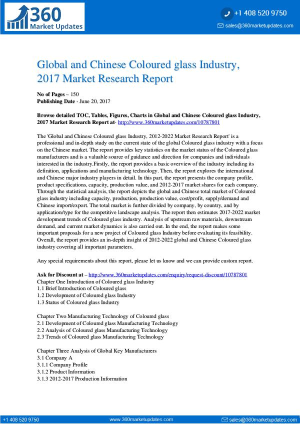 22-06-2017 Coloured-glass-Industry-2017-Market-Research-Repor
