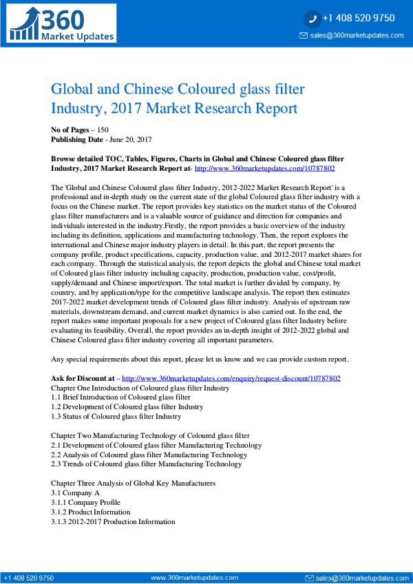 22-06-2017 Coloured-glass-filter-Industry-2017-Market-Researc