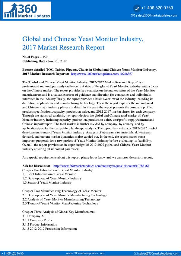 Yeast-Monitor-Industry-2017-Market-Research-Report