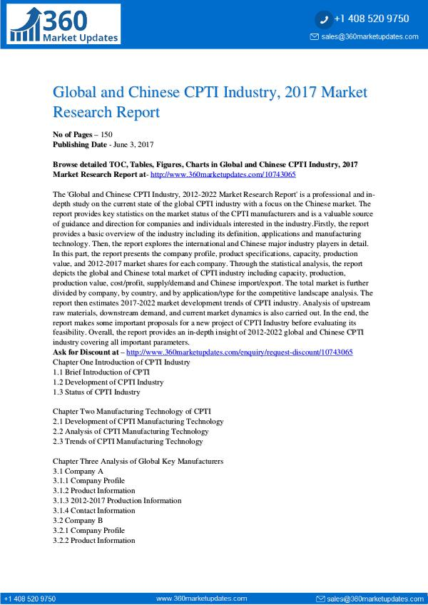 23-06-2017 CPTI-Industry-2017-Market-Research-Report