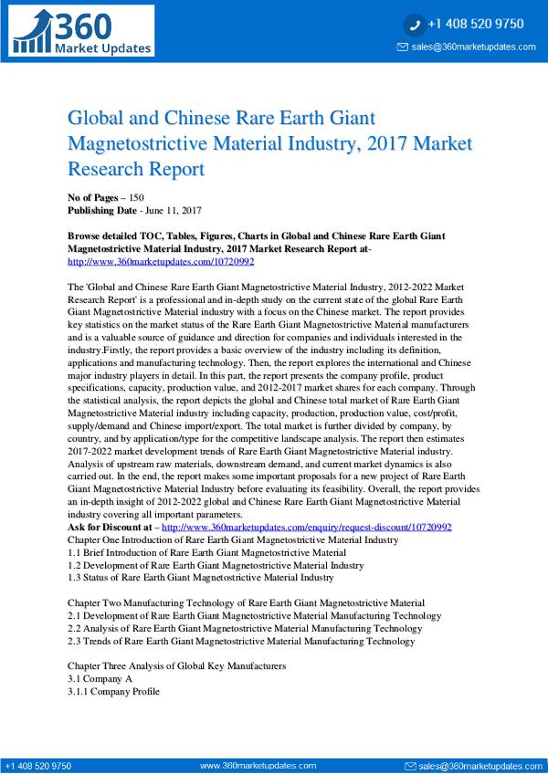 27-06-2017 Rare-Earth-Giant-Magnetostrictive-Material-Industr