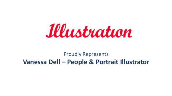Vanessa Dell - People and Portrait Illustrator