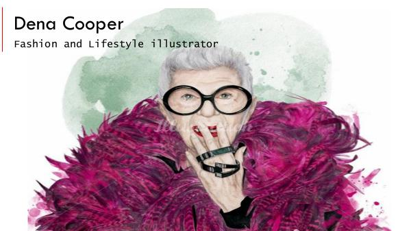 Dena Cooper, Fashion and Lifestyle Illustrator Dena Cooper