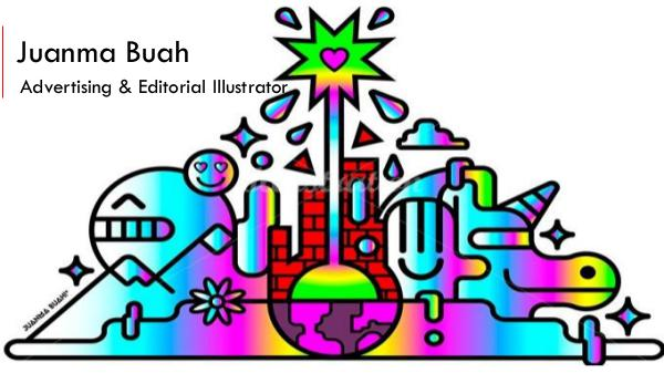Juanma Buah - Vibrant Advertising & Editorial Illustrator. Madrid juanma Buah