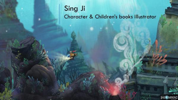 Sing Ji - Character & Children's books illustrator, Los Angeles Sing Ji