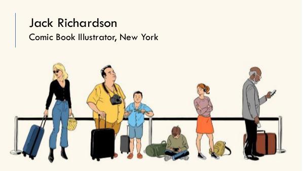 Jack Richardson - Comic Book Illustrator, New York Jack Richardson