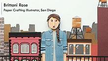 Brittani Rose - Paper Crafting Illustrator, San Diego