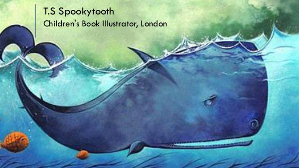 T.S Spookytooth - Children's Book Illustrator, London T.S Spookytooth
