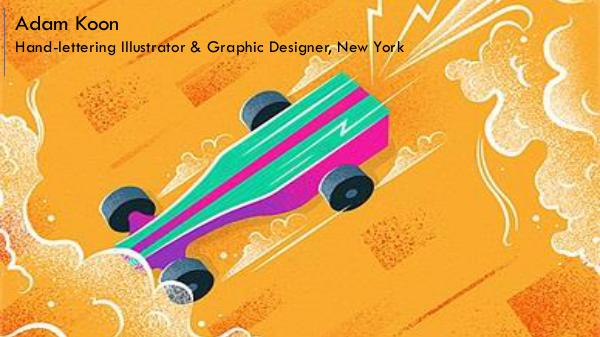 Adam Koon - Hand-lettering Illustrator & Graphic Designer, New York Adam Koon