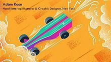 Adam Koon - Hand-lettering Illustrator & Graphic Designer, New York