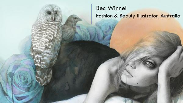 Bec Winnel - Fashion & Beauty Illustrator, Australia Bec Winnel