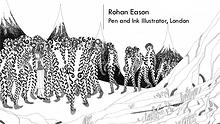Rohan Eason - Pen & Ink Illustrator, London