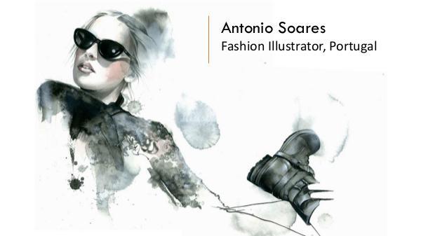 Antonio Soares - Fashion Illustrator, Portugal Antonio Soares