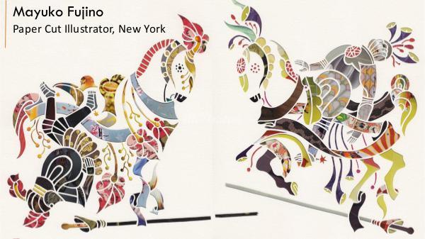 Mayuko Fujino - Paper Cut Illustrator, New York Mayuko Fujino