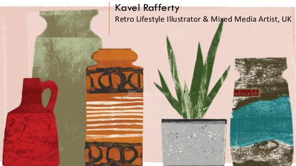 Kavel Rafferty - Retro Lifestyle Illustrator & Mixed Media Artist, UK Kavel Rafferty
