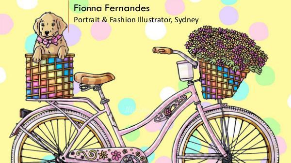 Fionna Fernandes - Portrait & Fashion Illustrator, Sydney Fionna Fernandes