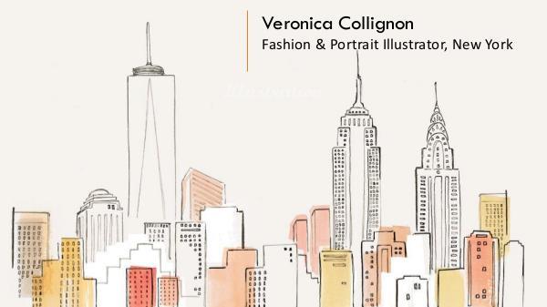 Veronica Collignon - Fashion & Portrait Illustrator, New York Veronica Collignon