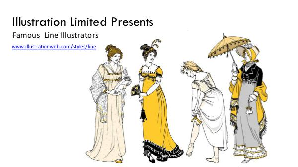 Famous Line Illustrators & Artists Line Illustration