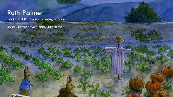 Ruth Palmer – Traditional Painterly Illustrator, London Ruth Palmer – Traditional Painterly Illustrator, L
