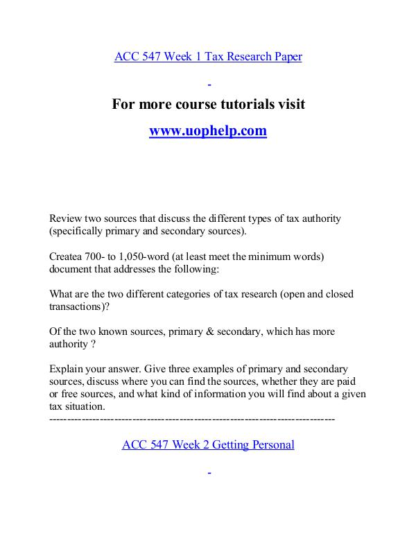ACC 547 help A Guide to career/uophelp.com ACC 547 help A Guide to career/uophelp.com
