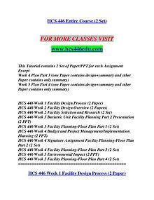HCS 446 EDU Let's Do This /hcs446edu.com