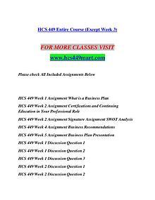 HCS 449 MART Let's Do This /hcs449mart.com