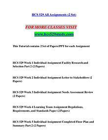 HCS 529 STUDY Let's Do This /hcs529study.com