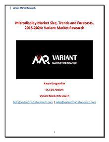 Microdisplay Market