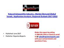 Global Natural Astaxanthin Market 2017-2022 Growth, Trends and Demand