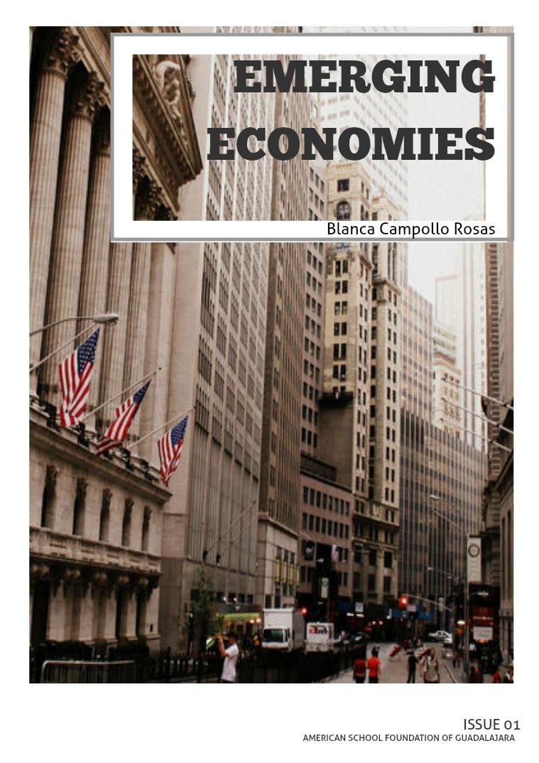 Emerging Economies Emerging Economies