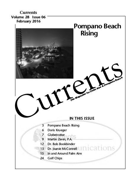 CURRENTS February 2016 Vol 29
