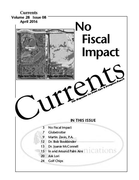 CURRENTS April 2016 Currents April 2016