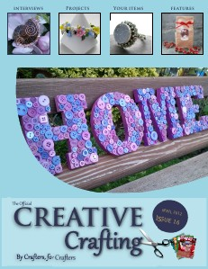 Creative Crafting Magazine April 2012