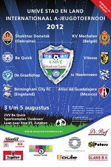 Krant Unive Stad en Land toernooi 2012