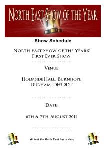 NESY Show Schedule NESY