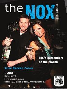 """""""the NOX"""" - SBC's Premier Entertainment Magazine"""