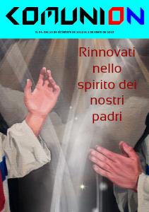 Comunion Revista Comunion nº 34 - 2012