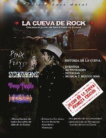 Cueva de rock Magazine
